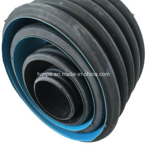Pumping Cost Reducing Light Weight HDPE 300mm Corrugated Pipe pictures & photos