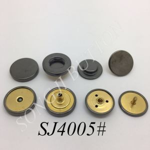 2017 New Design Garment Accessories for Man Clothing Spring Snap Metal Button pictures & photos