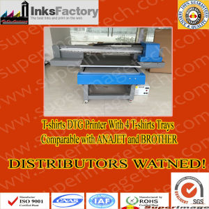 Spain Distributors Wanted: DTG T-Shirts Printers with 4 T-Shirts Trays pictures & photos
