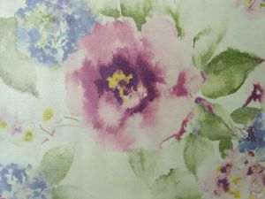 GBL Cheap Flower Non Woven Wallpaper pictures & photos