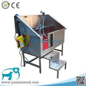 Ysvet-Cx130 304 Stainless Steel Veterinary Animal Cleaning Tub pictures & photos