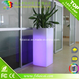 LED Garden Supplies Waterproof LED Flower Pot/LED Planter pictures & photos
