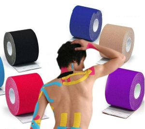Waterproof Athletic Kinesiology Therapeutic Tape pictures & photos