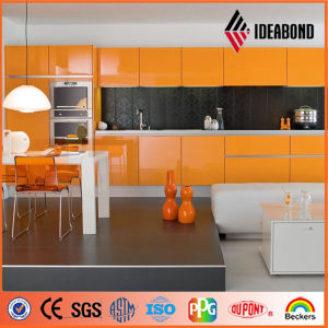 Ideabond Nano Polyester/PE Kitchen Decoration Aluminium Composite Panel (AE-32D) pictures & photos