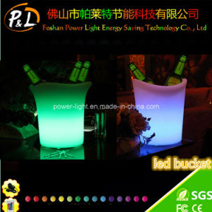 Rechargeable Light up Bar Wine LED Ice Cooler pictures & photos