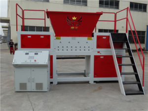Double Shaft Shredder Machine for All Plastic pictures & photos