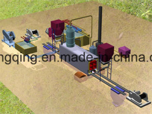 Mobile Movable 2-3ton Tire Recycling Machine Getting Pyrolysis Oil pictures & photos