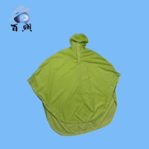 Embossed Breathable Allover Poncho with Fashionable Style pictures & photos