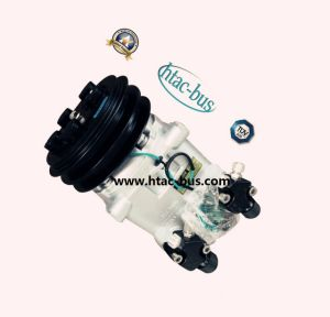 506010-1720, 500610-9730 Bus Air Conditioner Compressor with 24V Clutch pictures & photos