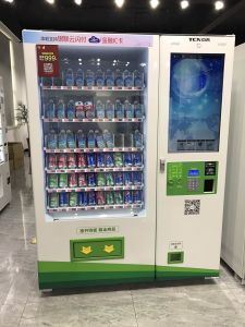 Double Cabinets Vending Machine for Cold Drink & Snacks 10c+10rss (32SP) pictures & photos