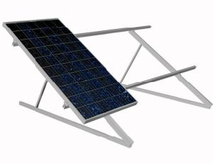 OEM Anodized Aluminum Solar Panels Mounting System pictures & photos