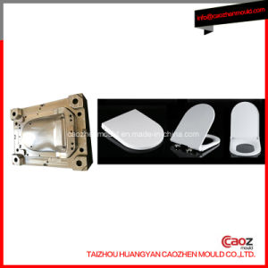 Plastic Toilet Seat Covery Injection Mold with Strong Resistance pictures & photos
