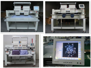 New Design Wonyo 2 Heads Cap Embroidery Machine Parts pictures & photos
