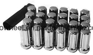 Black Wheel Lock Nuts 7 Spline Wheel Nuts pictures & photos