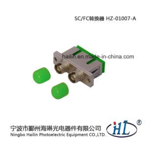 Optical Fiber Panel Duplex Sc-FC/Sm/APC Fiber Optic Adapter pictures & photos