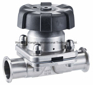 Sanitary Diaphragm Valve, Tank Bottom Valve, 3 Way Diaphragm Valve pictures & photos