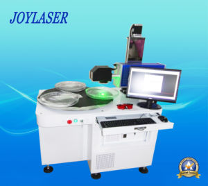 Rotary Table 3D Laser Engraving Machine for Crystal and Glass pictures & photos