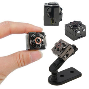 Sq8 Metal Cube Mini Camera Clip on Night Vision Video Camera Full HD 1080P DVR Recorder pictures & photos