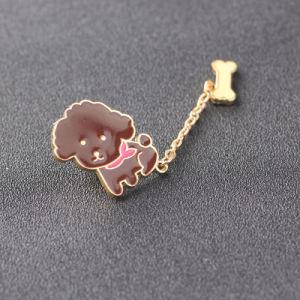 Fashion Metal Color Enamel Bulldog Animal Brooch Pins Zinc Alloy Enamel Bear Brooch Jewelry Gift pictures & photos
