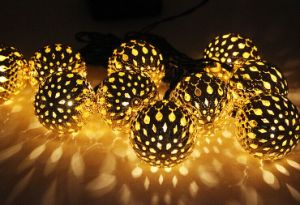 LED Globe String Lights  Moroccan Lamp for Indoor,Bedroom,Curtain,Patio,Lawn,Landscape,Fairy Garden,Home,Wedding,Holiday,Christmas Tree,Party (Warm White) pictures & photos
