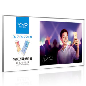 All Mounted Frameless Fabric LED Light Box pictures & photos