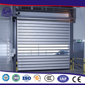 Factory Custom-Made Automatic High Speed Door in Industrial pictures & photos