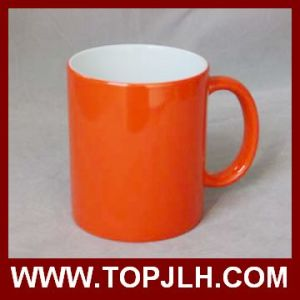 Hot Selling 11oz Sublimation Full Color Change Ceramic Mugs pictures & photos