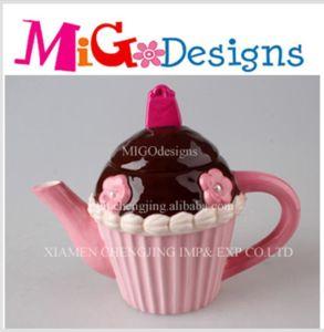 Wholesale Chic Ceramic Cupcake Teapot pictures & photos
