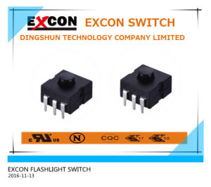 Electronic Tact Switch for Flashlight Products