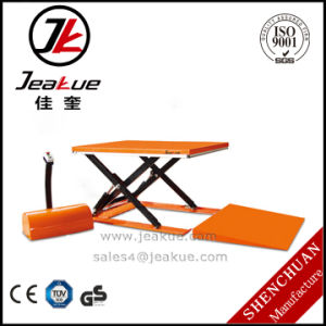 Jeakue 1-1.5t Electric Scissor Lift Table for Sale pictures & photos