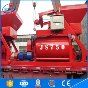 Two Shaft Compulsory Concrete Mixer Js750 pictures & photos