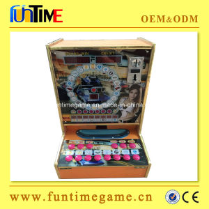 Coin out Table Slot Machine for Sale pictures & photos