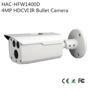 4MP Hdcvi IR Bullet Camera (HAC-HFW1400D)