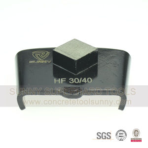 Metal Bond HTC Concrete and Stone Floor Diamond Grinding Shoe pictures & photos