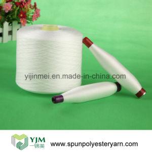 Sinopec PSF Polyester Spun Sewing Yarn pictures & photos