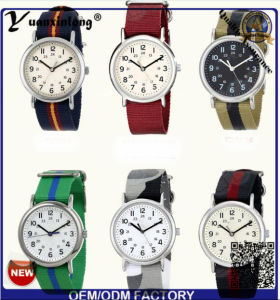 Yxl-123 Simple Design Nylon Nato Ladies Dress Watch Quartz Sport Casual Wrist Watch Lady Vogue Men Watches Factory pictures & photos