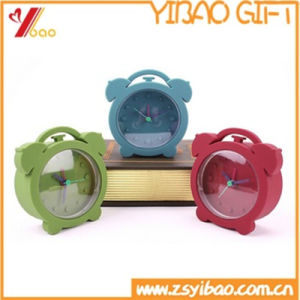 Custom Kids Colorful Silicone Alarm Clocks for Gifts (YB-AB-006) pictures & photos