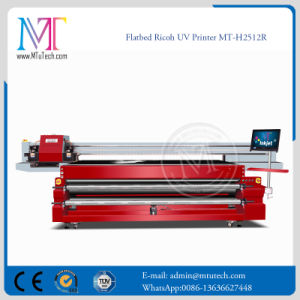 2.5meter*1.2 Meter Large Format Inkjet Printer Ricoh Gen5 Printhead Wall Paper Flatbed Printer UV Printer pictures & photos