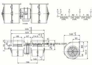 Bus Air Conditioner Evaporator Blower Fan OEM China Supplier pictures & photos
