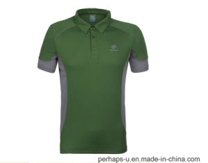 Breathable Dry-Fit Mens Golf Polo Shirt pictures & photos