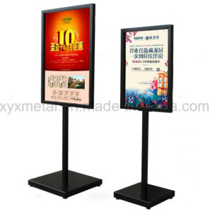 Outdoor Floor Exhibition Banner Display Stand Advertising Poster pictures & photos
