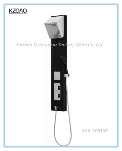 Kza-16515p Classical Taizhou Black PVC Shower Panel pictures & photos