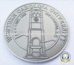 Zinc Die Cast Soft Enamel Plating Coin pictures & photos