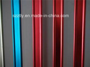 Customized Multi Color Aluminum Extrusion Profile for Windows pictures & photos