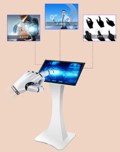 Floor Standing All in One Kiosk Touchscreen (LS320D1A) pictures & photos