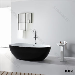 Artificial Solid Surface Bathroom Freestanding Bathtub (170531) pictures & photos