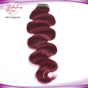 Fabulous Hair Red Color Body Wave Brazilian 99j Hair pictures & photos