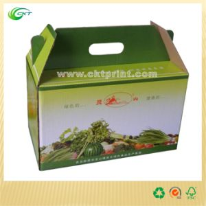 Cardboard Gift Box with Handle. (CKT-CB-440) pictures & photos