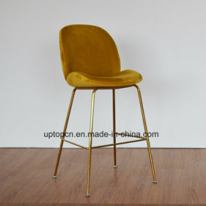 (SP-HBC437) Modern Design Gubi Beetle Bar Chair Replica Leather pictures & photos