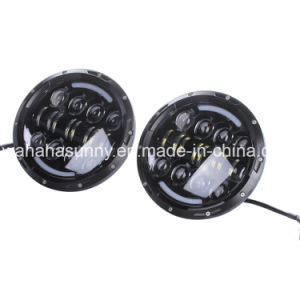 """High Power 7"""" 78W LED Work Light for Jeep Wrangler pictures & photos"""